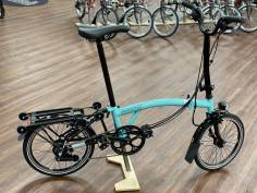 Brompton Black Edition H6RD Turkish Green glossy 2021