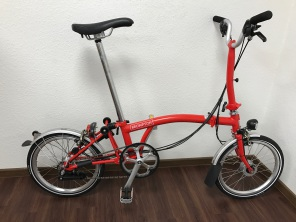 Brompton H6LD New Red