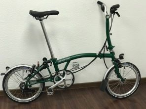 Brompton M6LD Racing Green
