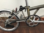 Brompton Superlight ( -740 Gramm )Aufpreis