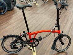 Brompton Black Edition H6L Rocket Red 2020