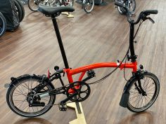 Brompton Black Edition H6LD Rocket Red glossy 2020