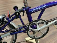 Brompton M6LD Purple Metallic