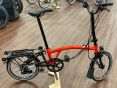 Brompton Black Edition M6RD Rocket Red glossy 2020