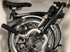 Brompton M6LDX Superlight TITAN Schwarz 2019