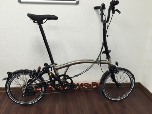 Brompton Nickel Edition H6LD 2017