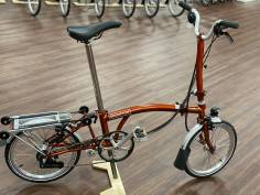 Brompton M6RD Flame Lacquer