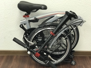 Dahon Curl i4 Champagner Silber