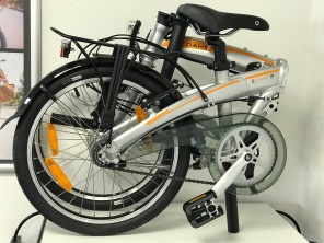 Dahon Curve i3 20 Zoll silber Modell 2018