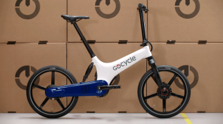 Gocycle GS weiß blau
