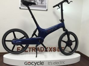 Gocycle G3 Blue Base & Portable Pack