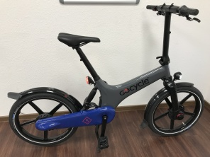 Gocycle GS Grau Blau