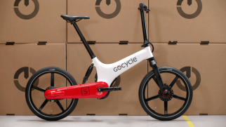 Gocycle GS weiß rot