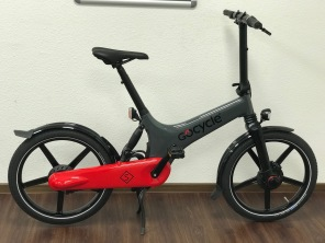 Gocycle GS Grau Rot