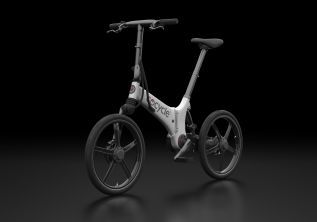 Gocycle GX Foldable White/Gloss Black