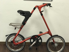 Strida EVO 3 Gang 18 Zoll Ruby Brushed Red