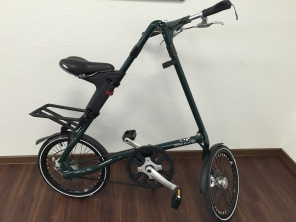 Strida EVO 3 Gang 18 Zoll English Dark Green