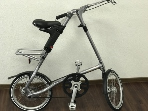 Strida EVO 3 Gang 18 Zoll Metall Silver Spezial Edition