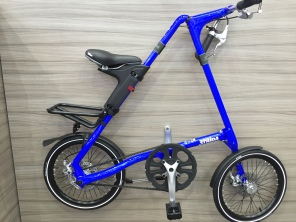 Strida SX 18 Zoll Blue Man