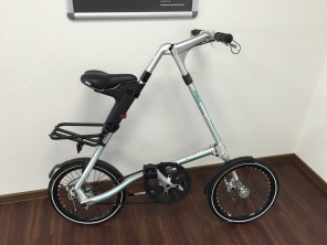 Strida SX 18 Zoll Silver Brush Faltrad
