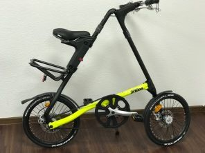 Strida SX 18 Zoll Black Neon Yellow Faltrad