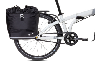 Tern Big Mouth Pannier Tweed Black