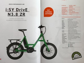 i:SY DrivE N 3.8 ZR Modell 2018 Nuvinci