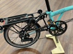 Brompton Black Edition S6RD Turkish Green glossy 2020