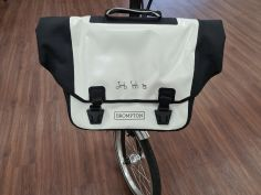 Brompton Ortlieb O Bag white-black